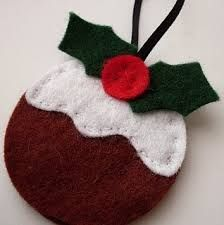 guirlanda de feltro natalina - Google Search
