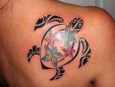 Tribal Turtle Tattoo Ideas, Designs, and Meanings Hawaiian Turtle Tattoos, Tribal Turtle Tattoos, Turtle Tattoo Designs, Tattoo Roman, Hawaiianisches Tattoo, Maori Tattoos, Foot Tattoos, Body Art Tattoos, Skull Tattoos