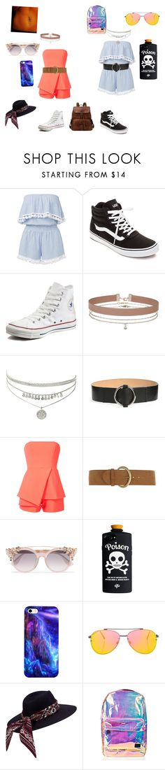 """Untitled #218"" by ameliaristickitty on Polyvore featuring Vans, Converse, Miss Selfridge, MaxMara, Jay Godfrey, Dorothy Perkins, Jimmy Choo, Topshop and Spiral"