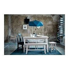 IKEA - JOXTORP, Hängeleuchtenschirm, Ein Schirm nach Wahl, dazu eine Aufhängung - fertig ist die individuelle Hängeleuchte.Gerichtetes Licht; gut zum Beleuchten von Ess- oder Fernsehtisch.