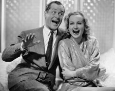 Robert Montgomery and Carole Lombard - Mr. and Mrs. Smith (1941)