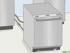 How to Install a Built In Dishwasher. A built-in dishwasher is made to fit seamlessly beneath your kitchen countertop and between your lower cabinets. Installing one is a manageable DIY job, but you'll need to carefully make the needed. Dishwasher Installation, Built In Dishwasher, Low Cabinet, Water Supply, Kitchen Countertops, Washing Machine, Home Appliances, House Appliances, Kitchen Appliances