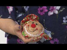 Sección Mi Taller del Programa El Yipao, 28 de Junio - YouTube Christmas Sewing, Christmas Time, Xmas, Primitive Doll Patterns, Grinch, Teddy Bear, Dolls, Crafts, Youtube