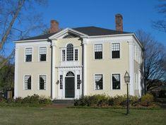 The Captain Charles Leonard House (1805).  663 Main Street, Agawam.