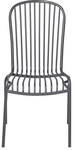 Kodin1 - ANNO Anno Retro-tuoli harmaa | Puutarhatuolit ja parveketuolit