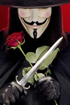 """You're like a millennial Natalie Portman. Like I'm V for Vendetta. Guy Fawkes, V For Vendetta Tattoo, V Pour Vendetta, Vendetta Mask, Ideas Are Bulletproof, The Fifth Of November, Rauch Fotografie, Kino Film, Fandoms"