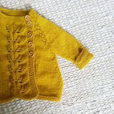Ravelry: Autumn leaves jacket / Høstløvjakke pattern by Marianne J. Bjerkman