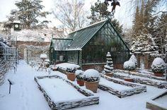 Alitex Gewächshaus - Englischer Garten Köln - Winter