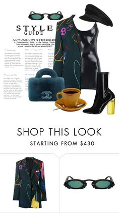 """""""90s model"""" by vri0t ❤ liked on Polyvore featuring Paul Smith, Christian Dior and Hermès"""