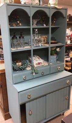 Colleen from Maine did this beauty with Dixie Belles newest chalk paint color Vintage Duck Egg