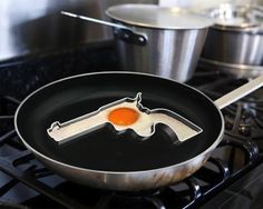 Handgun Egg Frying Mold – $8