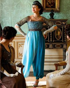 Downton Abbey: I love seeing an awesome portrayal of a 1st wave feminist.  Hopefully one day they'll portray 2nd and 3rd wave feminists like this, instead of the crazy straw feminists we see on tv today.