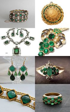 Emerald Dreams ~ A VJSE Group Team Treasury by Kathleen Paschal and Sheena Ingram on Etsy--Pinned with TreasuryPin.com
