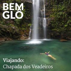 Hoje falamos sobre a Chapada dos Veadeiros, um lugar brasileiríssimo cheio de riquezas naturais. Vem! #bemglo #viajando #chapadadosveadeiros