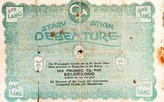 Starvation Debenture - political election propaganda (1932 NSW election)