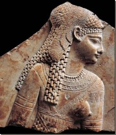 Deel van een reliëf, Louvre, Parijs.