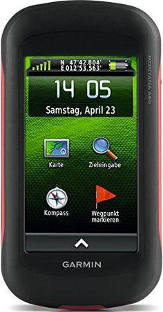 Garmin Montana 680 Outdoor-Navigationsger�t (ANT+ Konnektivit�t, 8 MP Kamera, 10,16cm (4 Zoll) Touchscreen-Display)