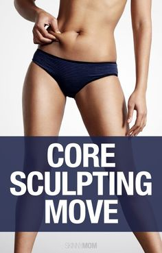 Sculpt your core with this awesome exerciese