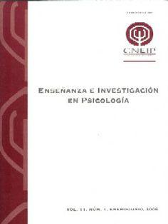 Enseñanza e investigación en psicología [recurs electrònic]. México, Consejo Nacional para la Enseñanza e Investigación en Psicología.