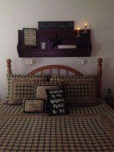 Shelf over my bed