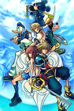 This game is my childhood  /Kingdom Hearts 2/