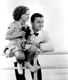 Shirley Temple and Robert Young