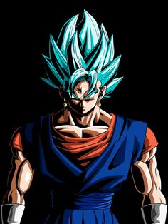 Dragon Ball Z Wallpapers: Goku Special – Being Social Dragon Ball Z, Goku E Vegeta, Nagisa, Z Wallpaper, Cool Dragons, At Least, Nerd, Super Saiyan, Vegito Ssj Blue