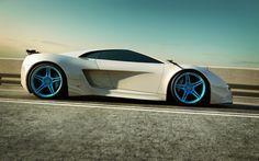Futuristic Car, Audi A9, Audi xQ Concept