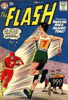 Vintage Comic Book - flash