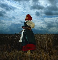 The Russian Peasant costume was designed and made by the stylist Jacqui Frye.