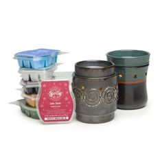 Scentsy!!  It *sounds* expensive but is much cheaper than burning candles AND much safer without lead wicks and things I dont want burned into the air in our home.   http://stephmartin.scentsy.us/