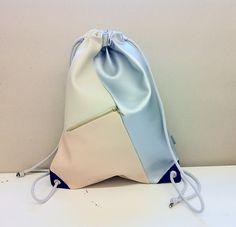 Bunter Turnbeutel für den Alltag, schickes Accessoire / colorful gym bag made by ein garten via DaWanda.com