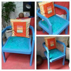 Cadeira costumizada.
