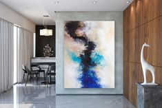Large Painting on Canvas,Extra Large Painting on Canvas,painting canvas art,painting for home,large modern canvas Yellow Painting, Large Painting, Painting Canvas, Interior Design Instagram, Oversized Canvas Art, Homemade Xmas Decorations, Decoration For Ganpati, Extra Large Wall Art, Do It Yourself Home