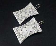 For sale ~ Silver Egyptian Earrings