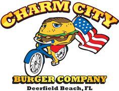 Charm City Burgers 1136 E Hillsboro Blvd, Deerfield Beach, FL 33441 Deerfield Beach Restaurants, Burger Company, Unique Restaurants, Good Burger, Christmas Vacation, South Florida, Vacation Ideas, Spring Break, Burgers