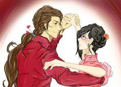 Shall we dance, Nanao-chan? by wonderparade.deviantart.com on @deviantART
