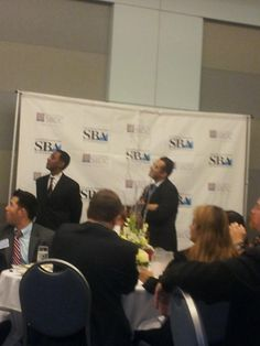 Was at the SBDC/SBA success luncheon yesterday as one of the Business Advisors for small businesses for the LA Office