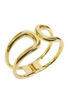 Gold Horseshoe Cuff