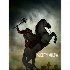 Sleepy Hollow Headless Horseman Giclee Print 18x24 foxshop.com $26.95
