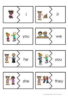 Personal pronouns - english flashcards on Tinycards English Lessons For Kids, English Worksheets For Kids, Kids English, English Activities, Learn English, English English, Pronoun Activities, Pronoun Worksheets, Preschool Activities