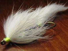 White Zonker Streamer Fly