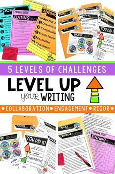 Writing challenges bundle pinterest student work students and narrative writing fun if your students love escape rooms then youll love fandeluxe Gallery