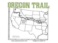 picture regarding Oregon Trail Map Printable titled 18 Least complicated Oregon Path pictures within just 2013 Oregon path, 4th