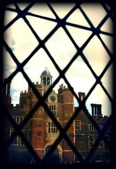 Through the window, Hampton Court Palace