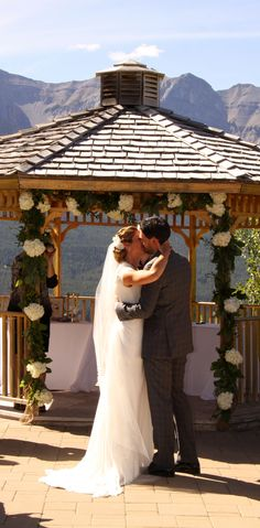 A Sunny Outdoor Wedding In Canmore