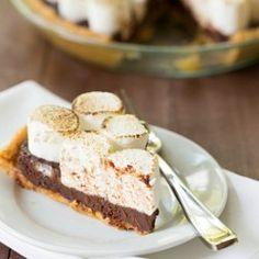 No-Bake S'mores Pie