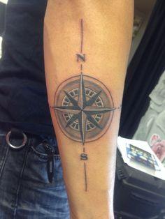 Hubby man's new tattoo. @Jay C Matias