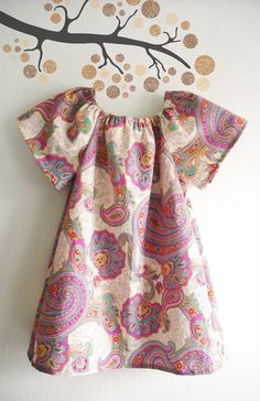 Baby Summer Dress/ Toddler Dress/ Children's by ANKOdesign on Etsy, $24.00