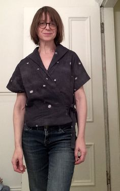 Sewing Patterns - Pattern Reviews for Merchant & Mills Pattern - Heron Heron Wrap Top - Sewing & Sewing Pattern Reviews at PatternReview.com